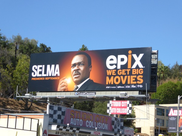 Selma movie Epix billboard