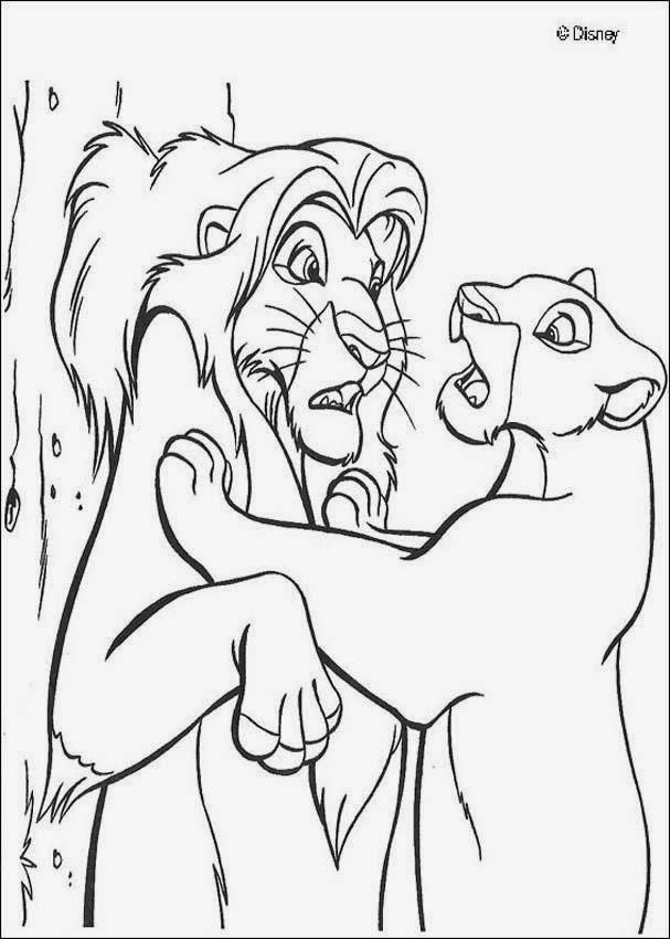 Cuentos infantiles El rey len para colorear Dibujos para imprimir
