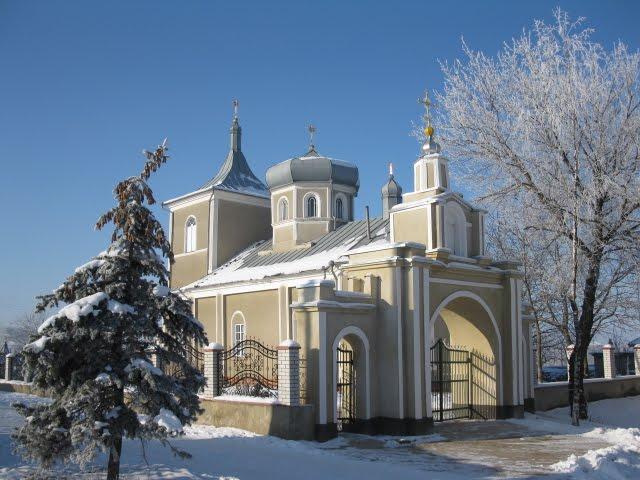Mîndria localităţii - biserica Sf. Voievod Mihail