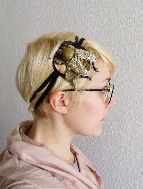 le cabinet des curiosit s headband ann es 20. Black Bedroom Furniture Sets. Home Design Ideas