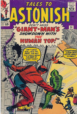 Tales to Astonish #51, Giant-Man v the Human Top