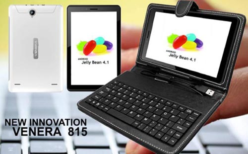 Venera 815, Tablet Android Murah Keyboard Eksternal