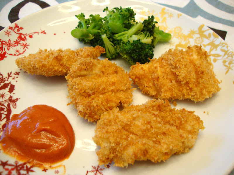 my back pages: baked chicken nuggets