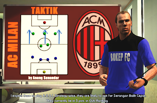 Download Manager Room AC Milan PES 2013