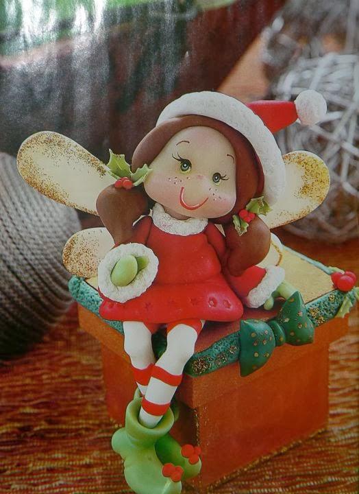 Taller de creacion artesanal artemanos paso a paso duende for Manualidades souvenirs navidenos