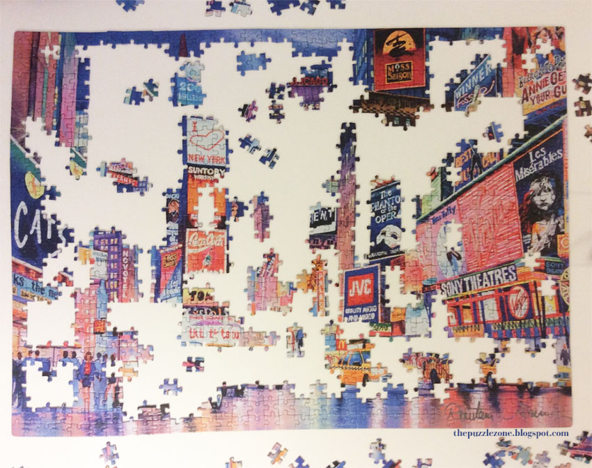 Unfinished Jigsaw Puzzle December 2015 - the puzzle zone - world of ...