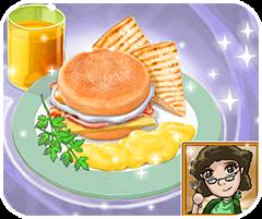 Ăn sáng đúng cách, chơi game nấu ăn hay