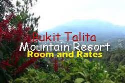 Tarif Bukit Talita Mountain Resort