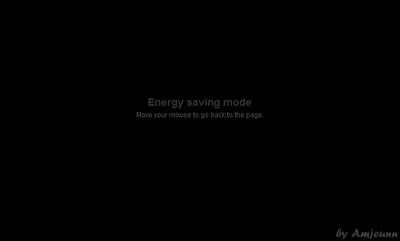 Cara memasang efek power saver pada blog