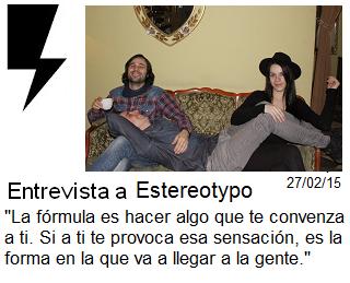 http://somosamarilloelectrico.blogspot.com.es/2015/02/estereotypo-el-inicio-de-una-etapa.html