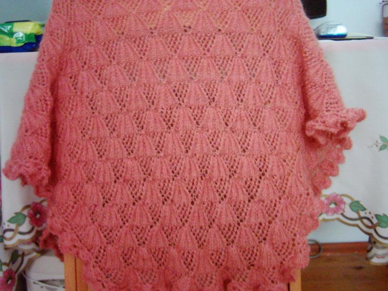 free knitting pattern: new rectangular knitting shawl patterns