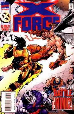 X-Force 46 Cover Sunfire Mimic