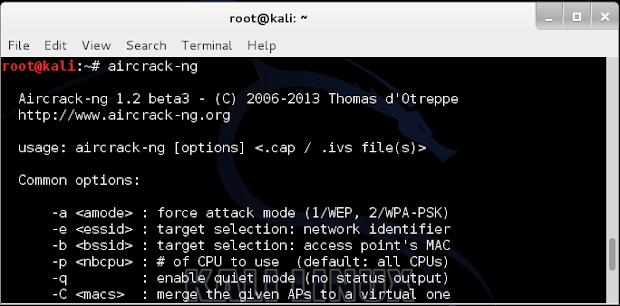 إختراق شبكة الوايرلس Wifi ومعرفة كلمة السر الخاص به