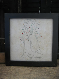 framed stitchery