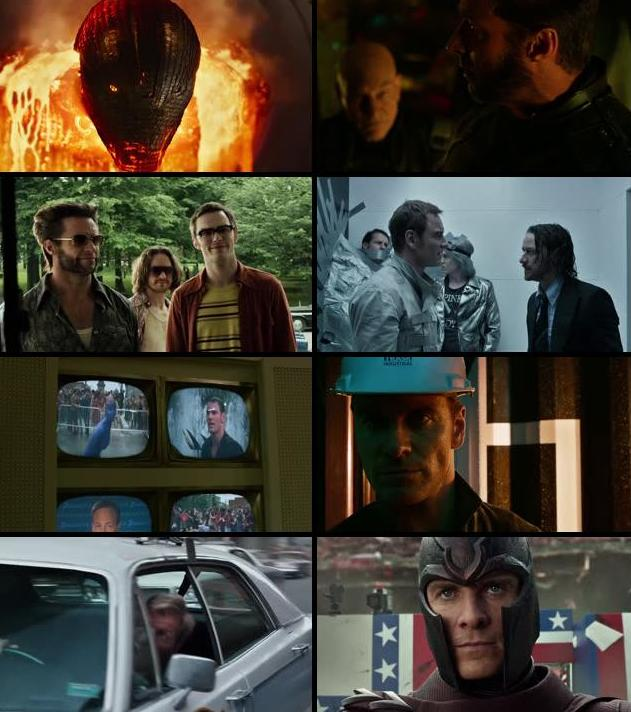 X Men Days of Future Past 2014 Dual Audio Hindi 720p BluRay