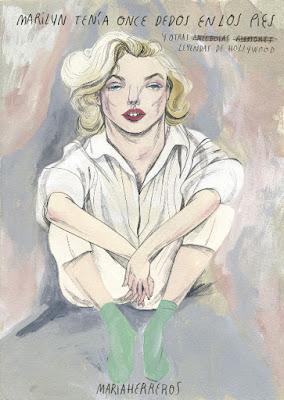 LIBRO - Marilyn tenía once dedos en los pies Maria Herreros (Lunwerg - 22 marzo 2016) BIOGRAFIA - CINE | Edición papel & digital ebook kindle Comprar en Amazon España