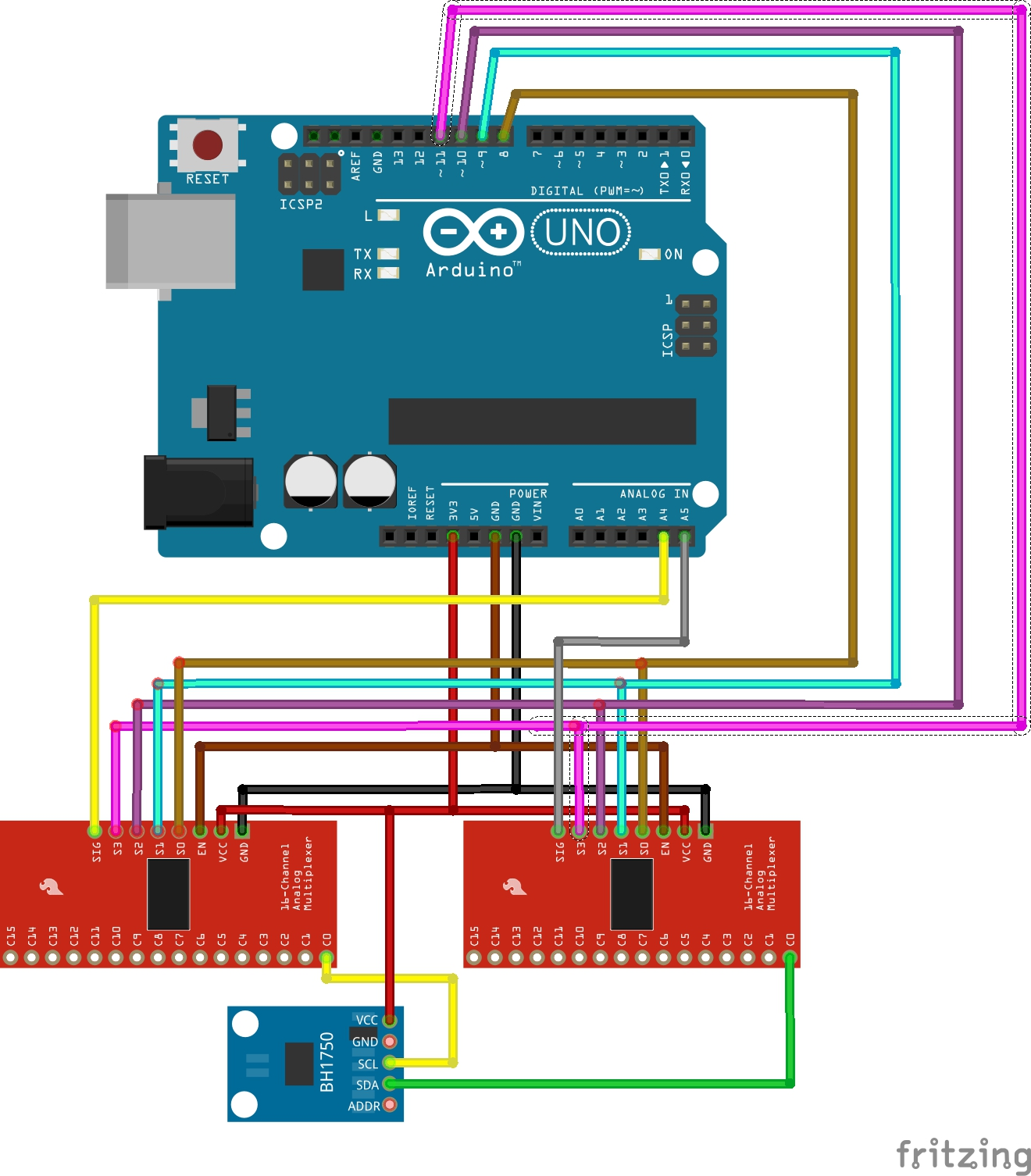 how to connect id12 to arduino