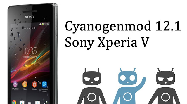 CM 12.1 rom for Sony Xperia V Tsubasa Lt25i