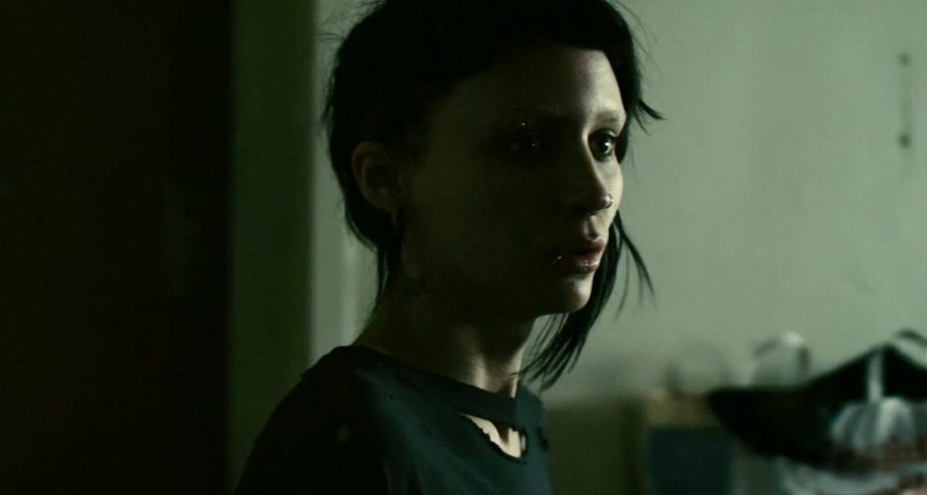 Daily grindhouse fincher fest the girl with the dragon for The girl with the dragon tattoo story