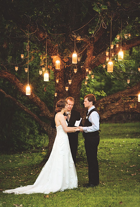 I 39ve always pictured getting married beneath a huge tree decorated with
