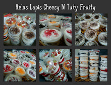 KELAS LAPIS CHEESY N TUTY FRUITY