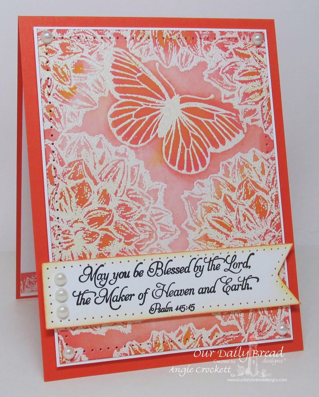 ODBD Dahlia, Butterfly Single, Happy Birthday, Card Designer Angie Crockett