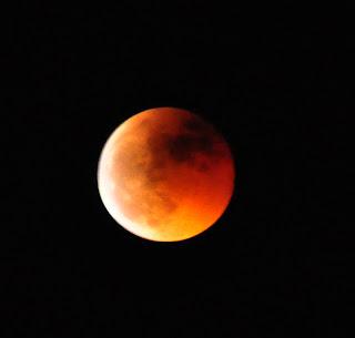 Eclipse luna en Uncastillo