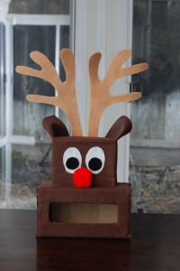 Meet our new reindeer game for Snowman pocket tissues