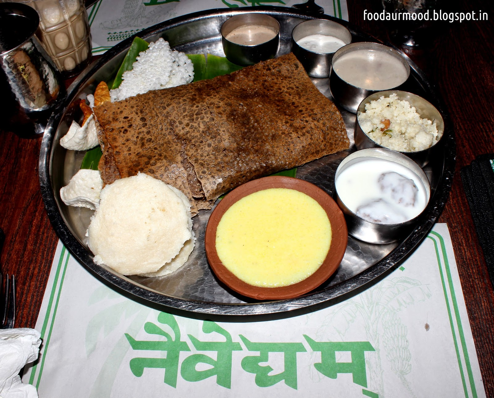 Thali, Navratra, Fasting meals, Vrat
