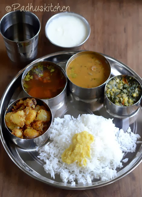 South Indian Lunch