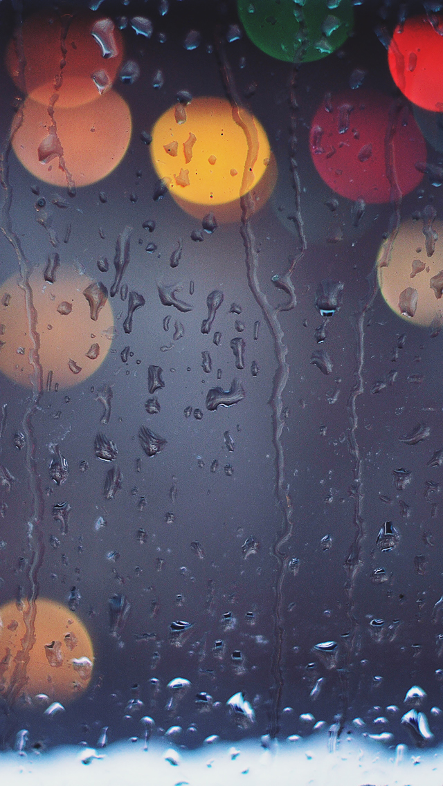 HD IPhone 5 Rain Wallpapers