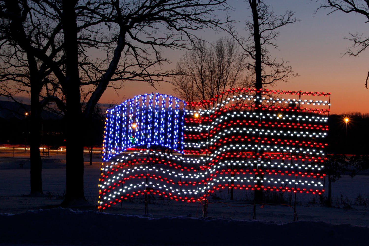 American Made Christmas Lights