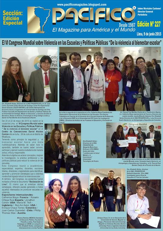 Revista Pacífico Nº 227 Edición Especial