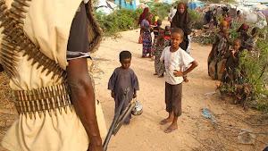 Niños del campo de refugiados