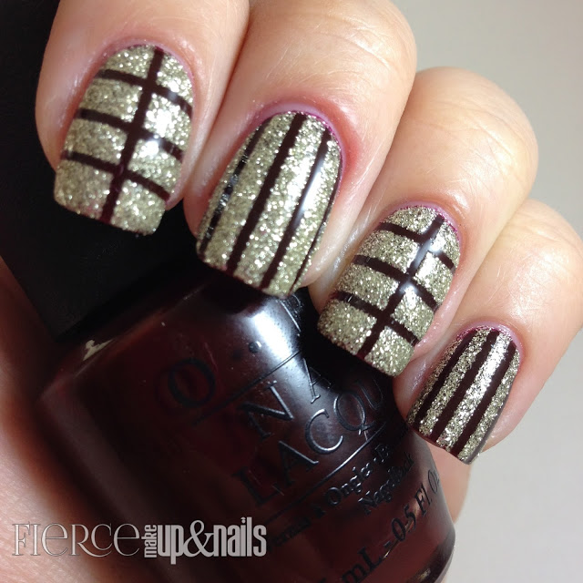 Easy Nail Art Using Tape: How To...Using Striping Tape