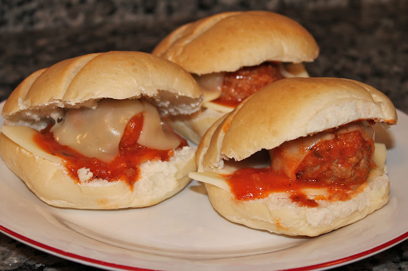 Cooking with Mandy: Mini Meatball Sandwiches
