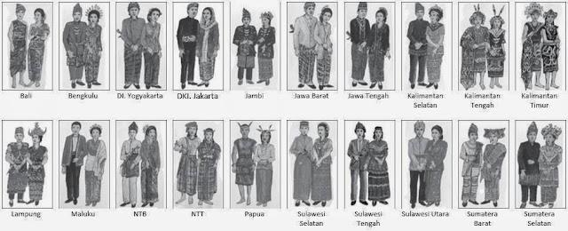 Pakaian Adat Daerah di Indonesia