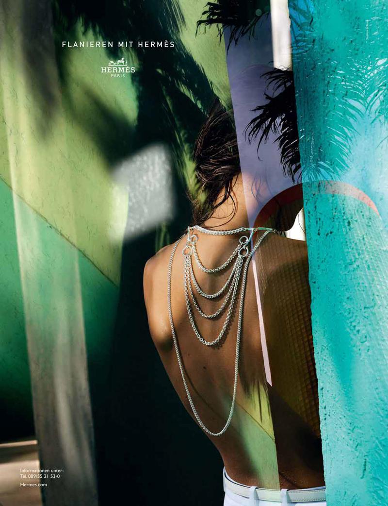 Hermes Dans l'oeil du Flaneur Spring/Summer 2015 campaign
