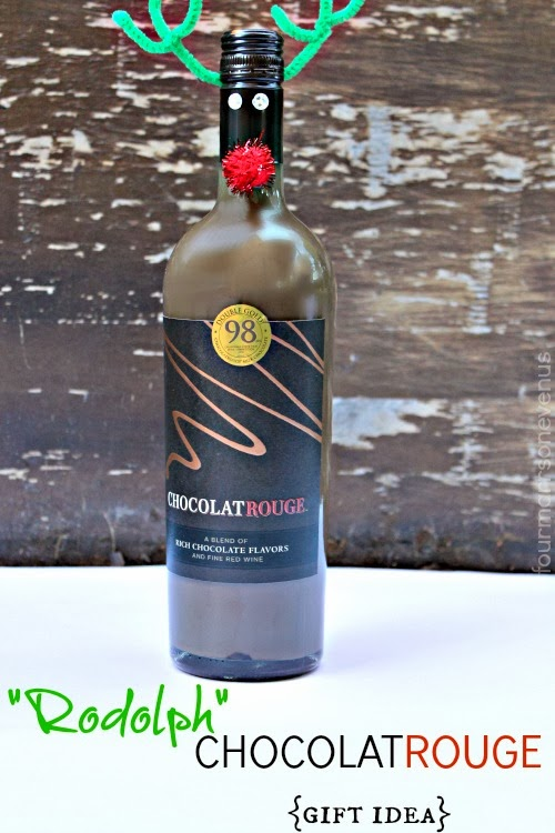 ChocolatRouge Wine Gift Idea #shop