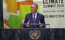 Obama speaks on Climate Change
