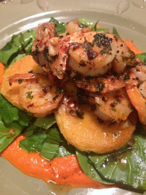 From Rags to Restaurant: Red Chili Honey Butter Shrimp on Crispy ...