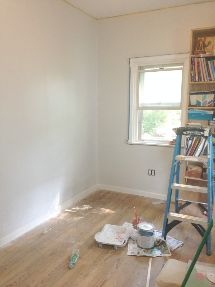 office to nursery // the process | A Hopeful Hood