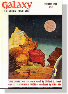 Galaxy Science Fiction magazine