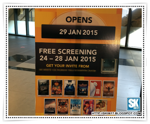 Free Screening at New Cinema in Town