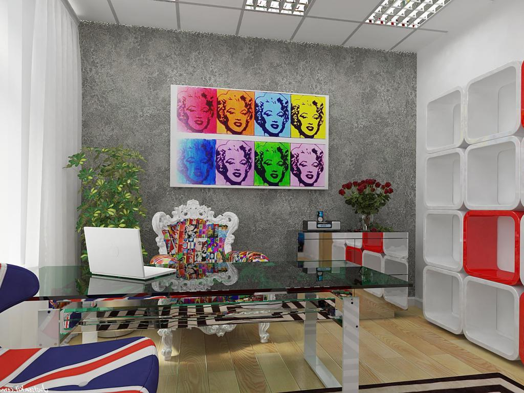 Interiors Inspired By Pop Art