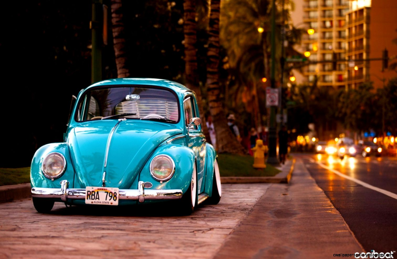 Volkswagen Beetle Street Tuning Car Hd Wallpaper  Wallpaper List