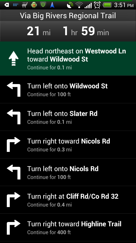 MN Bike Trail Navigator TurnbyTurn Navigation for Biking Added – Turn by Turn Maps