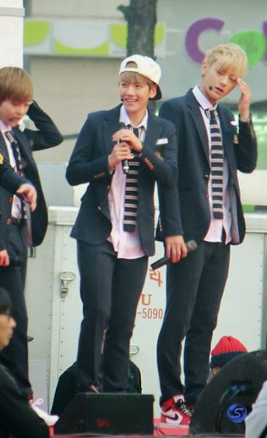 Bakehyun at 1st Youth Push Up! Love Up! Competition.