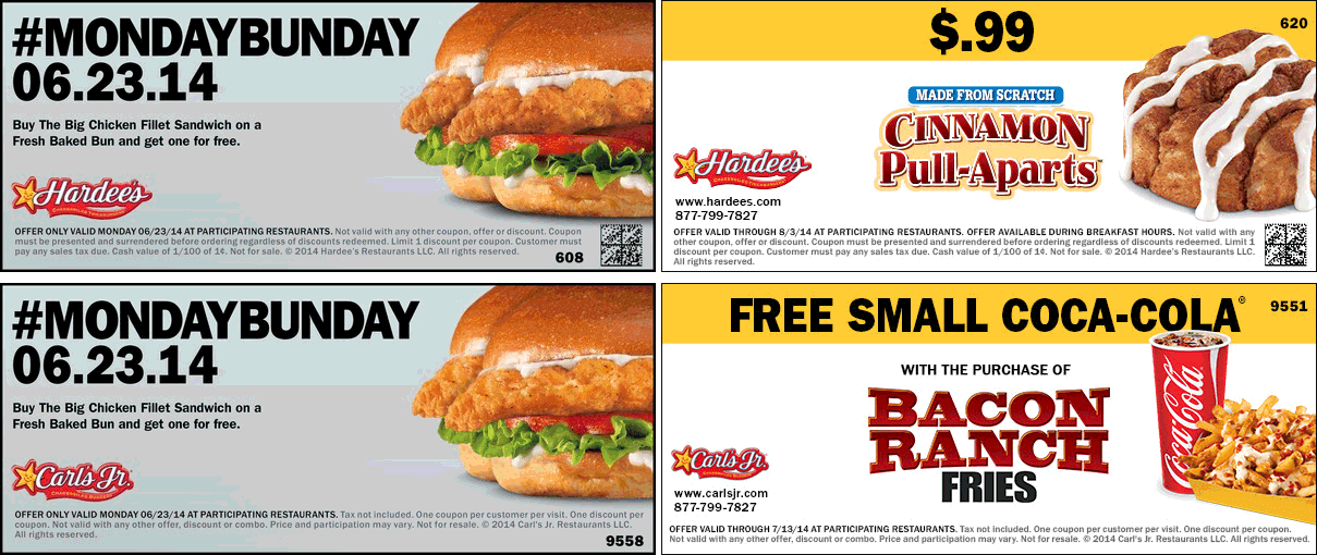 Aug 02,  · Hardee's is the Midwestern and East coast equivalent of Carl's Jr. Burgers. They serve up similarly mouthwatering, juicy menus and are known for their Thickburgers and X-tra Bacon burgers. Get a thick discount with our coupons.5/5(4).