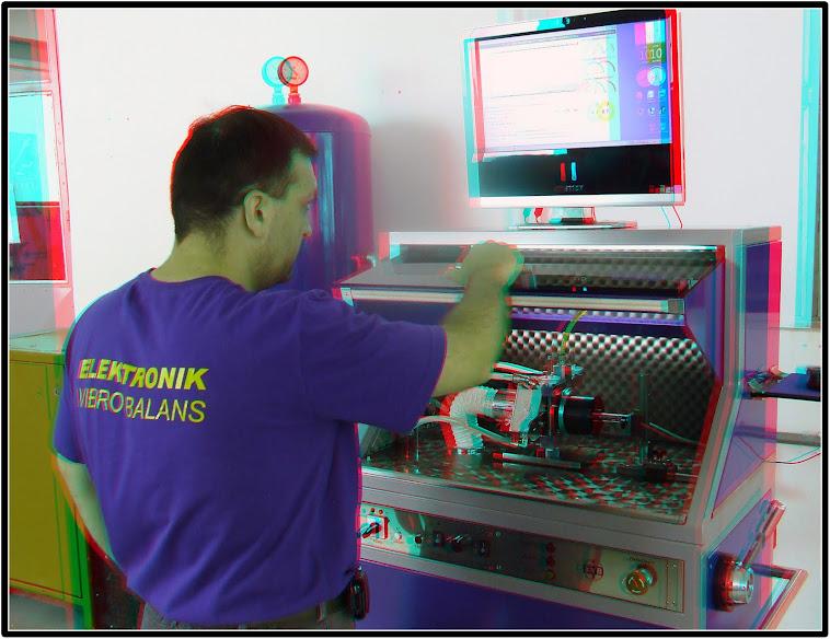 Mašina za testiranje turbina - INTEGRALE  RACING